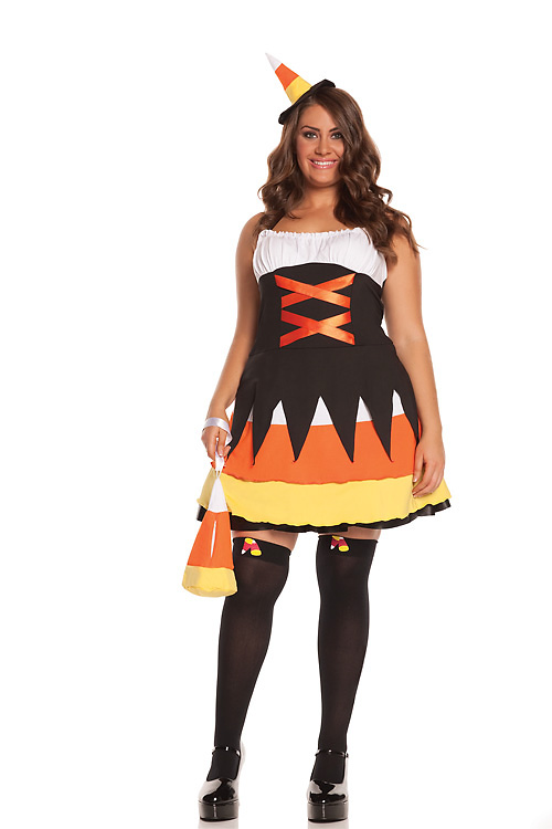 Kandy korn witch sexy costume